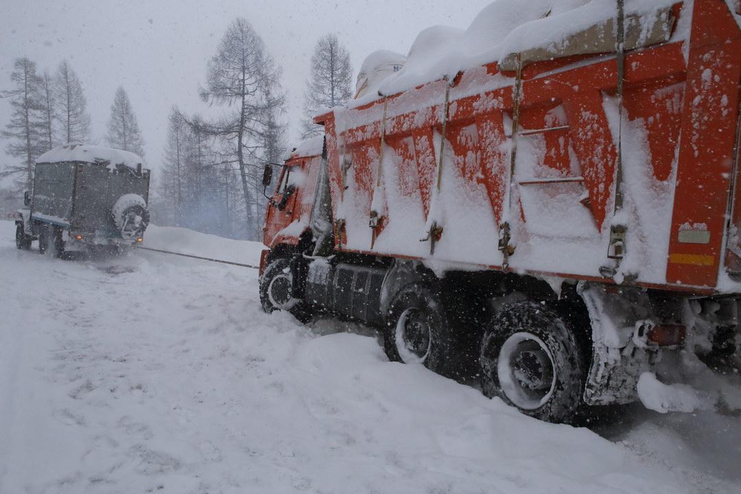 Дорога в Якутии
