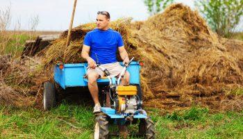 Мини-трактор или мотоблок с прицепом — золотая жила для подработки на дачах – реальная бизнес-идея на круглый год