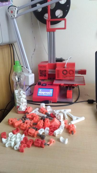 «Бизнес на мелочах» - реальная бизнес идея от пенсионера, освоившего 3D печать